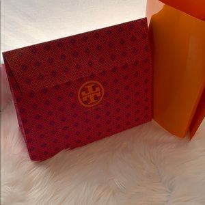 Tory Burch gift bag and paper